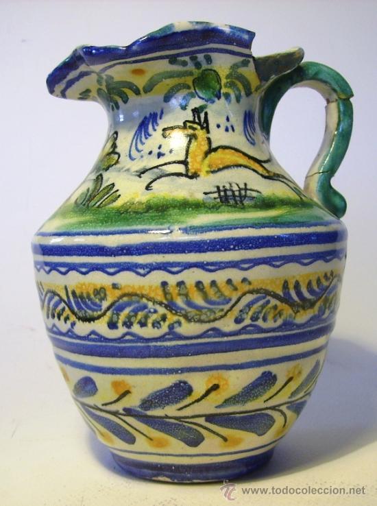 Antigüedades: BONITA JARRA CERAMICA DE TRIANA - Foto 6 - 35639329