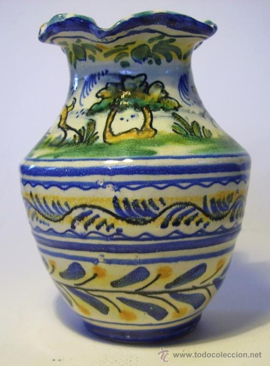 Antigüedades: BONITA JARRA CERAMICA DE TRIANA - Foto 5 - 35639329