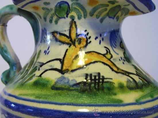 Antigüedades: BONITA JARRA CERAMICA DE TRIANA - Foto 3 - 35639329