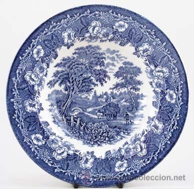 Plato de porcelana inglesa dronstone tableware comprar for Platos cuadrados de porcelana