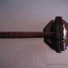 Antigüedades: EXCEPCIONAL PIEZA ANTIGUA MARTILLO MASON-MASONICO. Lote 35651877