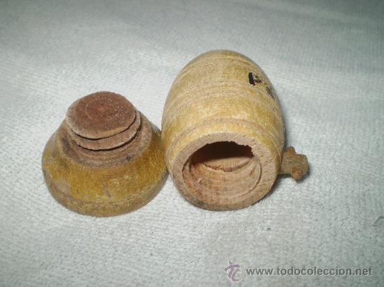 Antigüedades: SALERO DE MADERA S XX - Foto 2 - 35654763