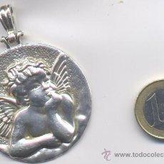 Antigüedades: MEDALLA ANTIGUA DE PLATA. Lote 168920254