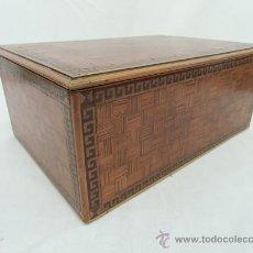 Antigüedades: CAJA INGLESA ,S.XIX. Lote 35679733