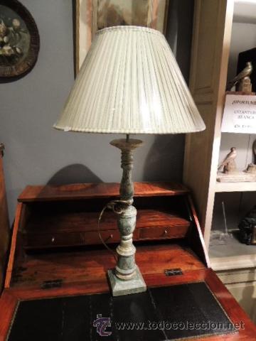 PRECIOSA LAMPARA TIPO CANDELERO ANTIGUO ESTUCADO (Antigüedades - Iluminación - Lámparas Antiguas)