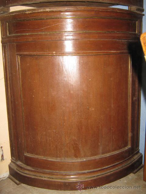 Mueble esquinera en madera de roble muy origin comprar for Muebles de roble antiguos