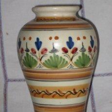Antigüedades: JARRON ANTIGUO EN CERAMICA DE TALAVERA / PUENTE.. Lote 35691332