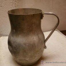 Antigüedades: JARRA DE ALUMINIO. Lote 35698666