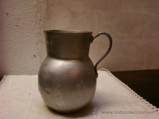 JARRA DE ALUMINIO (Antigüedades - Técnicas - Rústicas - Utensilios del Hogar)
