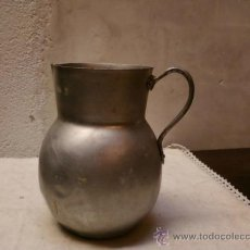 Antigüedades: JARRA DE ALUMINIO. Lote 35698721