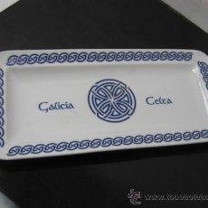 Antigüedades: 30 CM - BANDEJA FUENTE CERAMICA GALLEGA - GALICIA CELTA. Lote 35714056