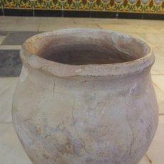 Antigüedades: ANTIGUA ORZA DE BARRO. Lote 94267723