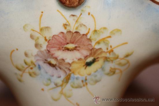 Antigüedades: Cesta porcelana años 60,s - Foto 2 - 35729535