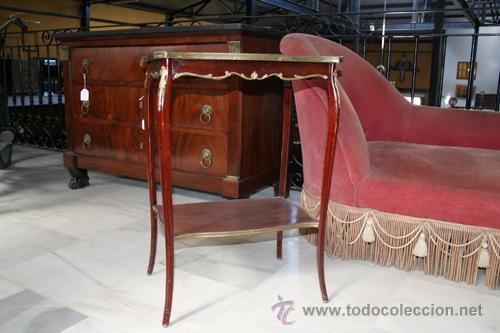 Antigüedades: MESA DE 1800,CAOBA REF.4742 - Foto 8 - 26994572