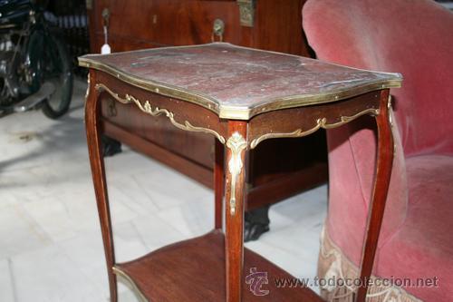 Antigüedades: MESA DE 1800,CAOBA REF.4742 - Foto 9 - 26994572