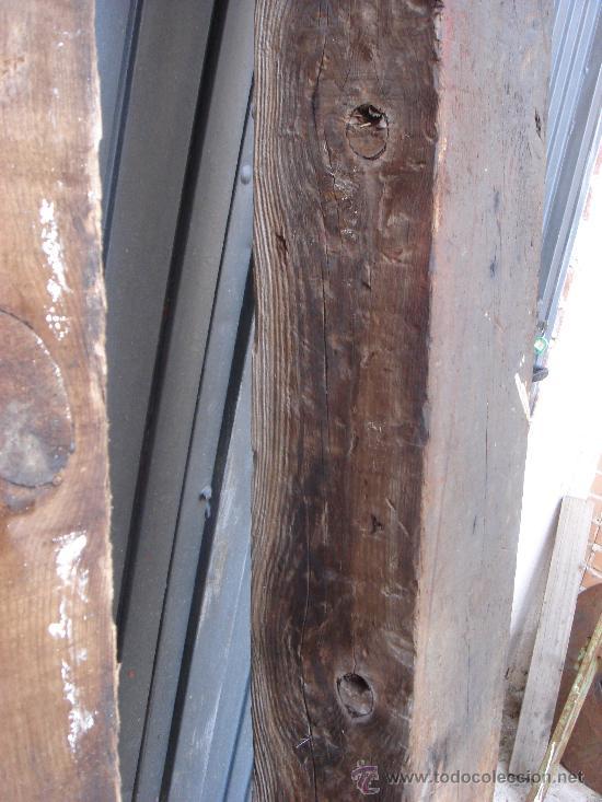 3 antiguas vigas madera sanas comprar utensilios del - Vigas de madera antiguas ...