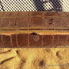 Antigüedades: ECONÓMICO BAÚL DEL S.XVIII BUENA CONSERVACIÓN. Lote 35774579