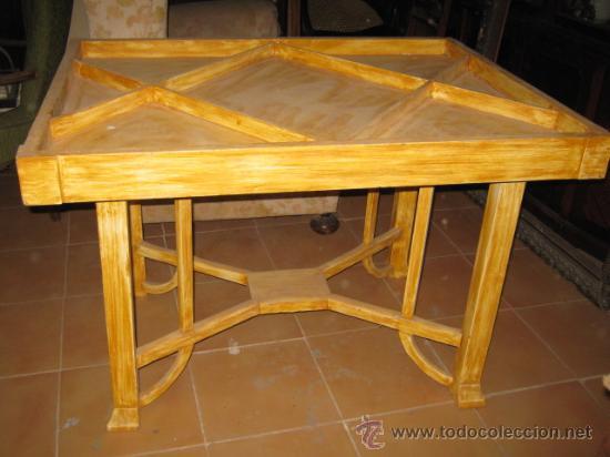 mesa expositor modernista de comedor, para pint - Buy Antique Tables ...