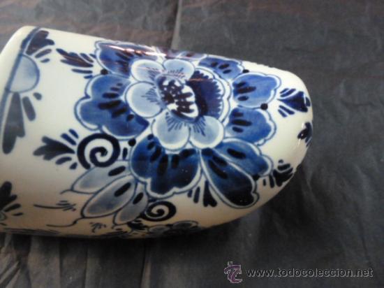 Antigüedades: zuecoloza azul - Foto 3 - 35908542