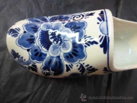 Antigüedades: zuecoloza azul - Foto 5 - 35908542