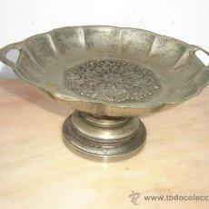 Antigüedades: FRUTERO DE METAL PLATEADO. Lote 35792877