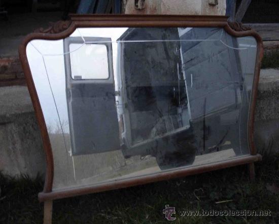 espejo de pared para comedor o dormitorio de cms antigedades muebles antiguos