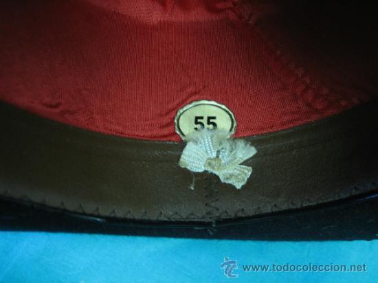 Antigüedades: Sombrero clasico Cordobes RUSI, Ambrosio Morales nº 1 Cordoba. Talla 55 - Foto 5 - 35832905