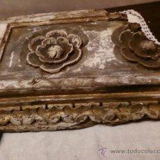 Antigüedades: PIEZA-TROZO DE RETABLO. Lote 35823325