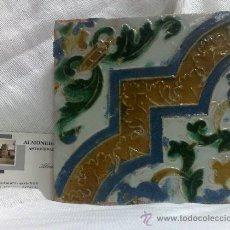 Antigüedades: ANTIGUO AZULEJO DE COLECCIÓN.- . Lote 35832500