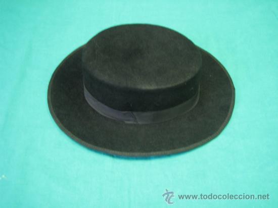 SOMBRERO CLASICO CORDOBES RUSI, AMBROSIO MORALES Nº 1 CORDOBA. TALLA 55 (Antigüedades - Moda - Sombreros Antiguos)