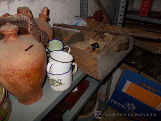 Antigüedades: cajon de madera muy antiguo - Foto 2 - 35842186