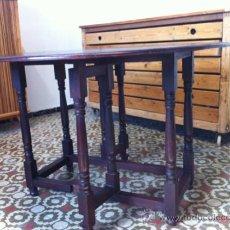 Antiquitäten - mesa de caoba - 35862314