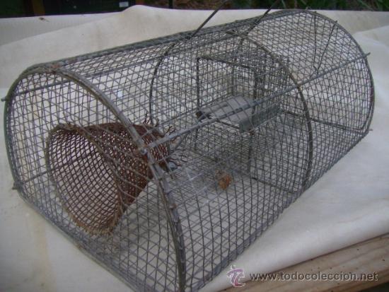 Antigua trampa ratas cepo jaula comprar caza antigua en - Cepos para ratones ...