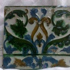 Antigüedades: SIGLO XVI-XVII.- ANTIGUO AZULEJO DE COLECCIÓN.. Lote 35885332