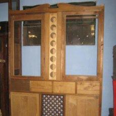 Antigüedades: ESTUPENDA ALACENA EN MADERA DE ROBLE Y PINO.. Lote 36014340