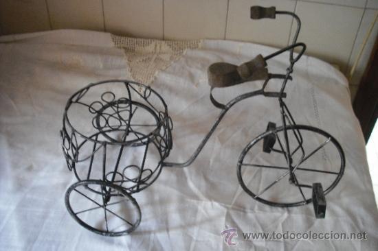 Macetero bicicleta comprar maceteros antiguos en todocoleccion 35913466 - Bicicleta macetero ...