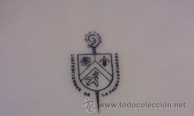 Antigüedades: JARON DE PORCELANA CON TAPA , SELLO CISTERCIENSES DE LA PALMA-CARTAGENA - Foto 9 - 35939150