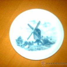 Antigüedades: PLATITO ORIGINAL HANDDECORATED MADE IN HOLLAND DELFT BLAUW. Lote 35941016