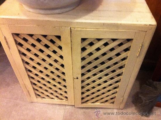 Armario de cocina antiguo con celosia comprar armarios - Armarios de cocina antiguos ...