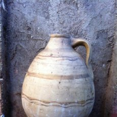 Antigüedades: ANTIGUO CÁNTARO DE CUENCA CAPITAL. Lote 35954164