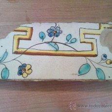 Antigüedades: AZULEJO DE 1700. Lote 35959866