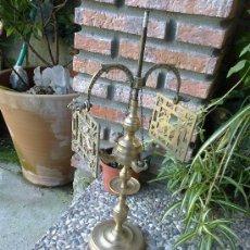 Antigüedades: LAMPARA DE BRONCE. Lote 35960760