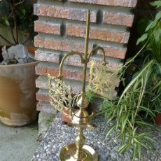 Antigüedades: LAMPARA DE BRONCE. Lote 35960765
