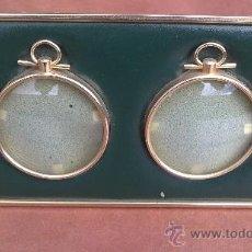 Antigüedades: ANTIGUO PORTAFOTOS DE SOBREMESA 18X11CM. Lote 36186079