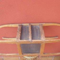 Antigüedades: CALIENTA CAMAS. CUATO BRAZOS.MADERA Y METAL. Lote 35981193