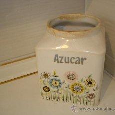 Antigüedades: TARRO DE AZUCAR SIN TAPA - VER FOTOS. Lote 35981556