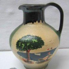 Antigüedades: GRAN JARRA CANTARO PUIGDEMONT CERAMICA CATALANA LA BISBAL. Lote 36002955