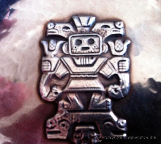 Antigüedades: PLATA 925 PIEZA INCA - Foto 2 - 36003686