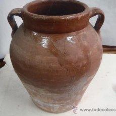 Antigüedades: OLLA DE PERERUELA ZAMORA 30 CM. Lote 36021070