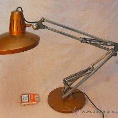 Antigüedades: LAMPARA DE MESA DE DESPACHO FASE. Lote 36021394